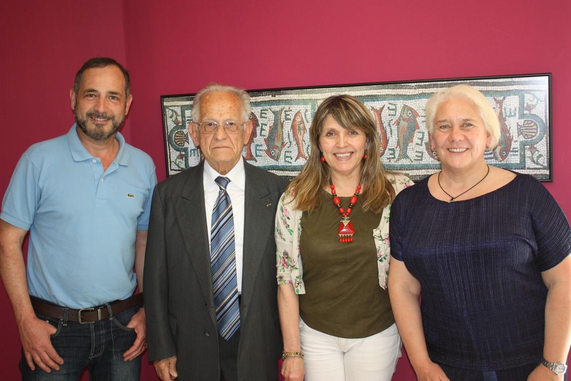 Jorge, Armando, Vilma y Marta