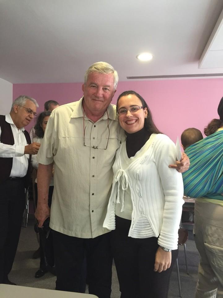 David Burt y Sonia Martínez