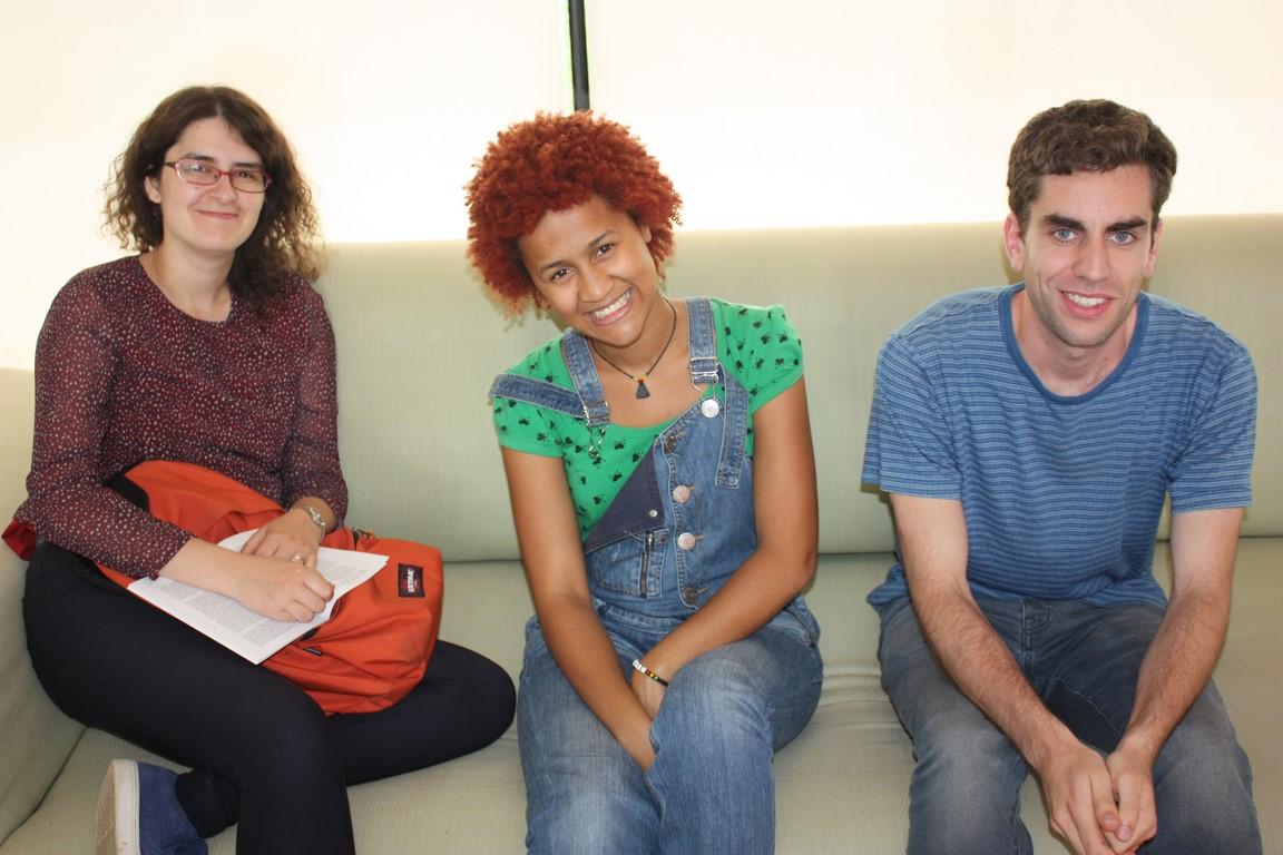 Rita, Carla y Daniel