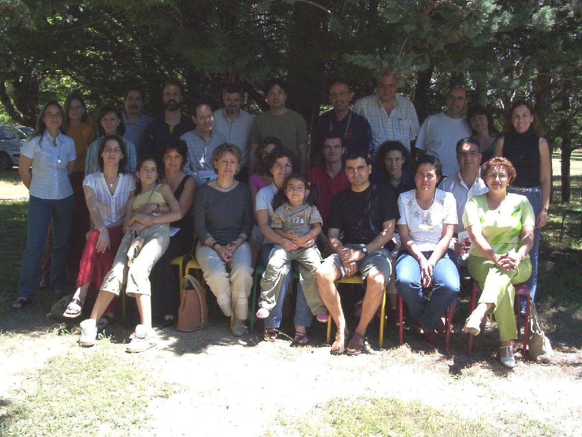 Foto de grupo Encuentro 2004 en Los Negrales