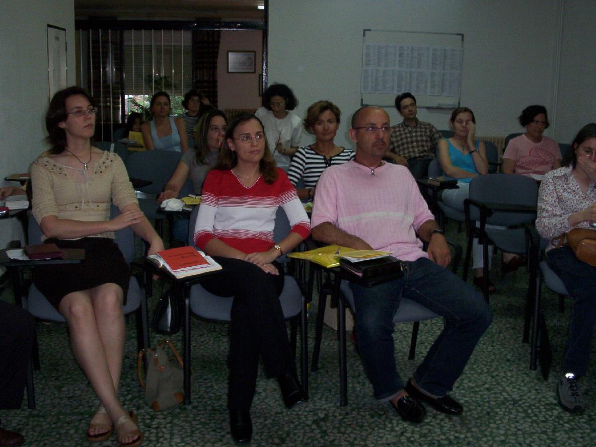 Atentos durante la plenaria