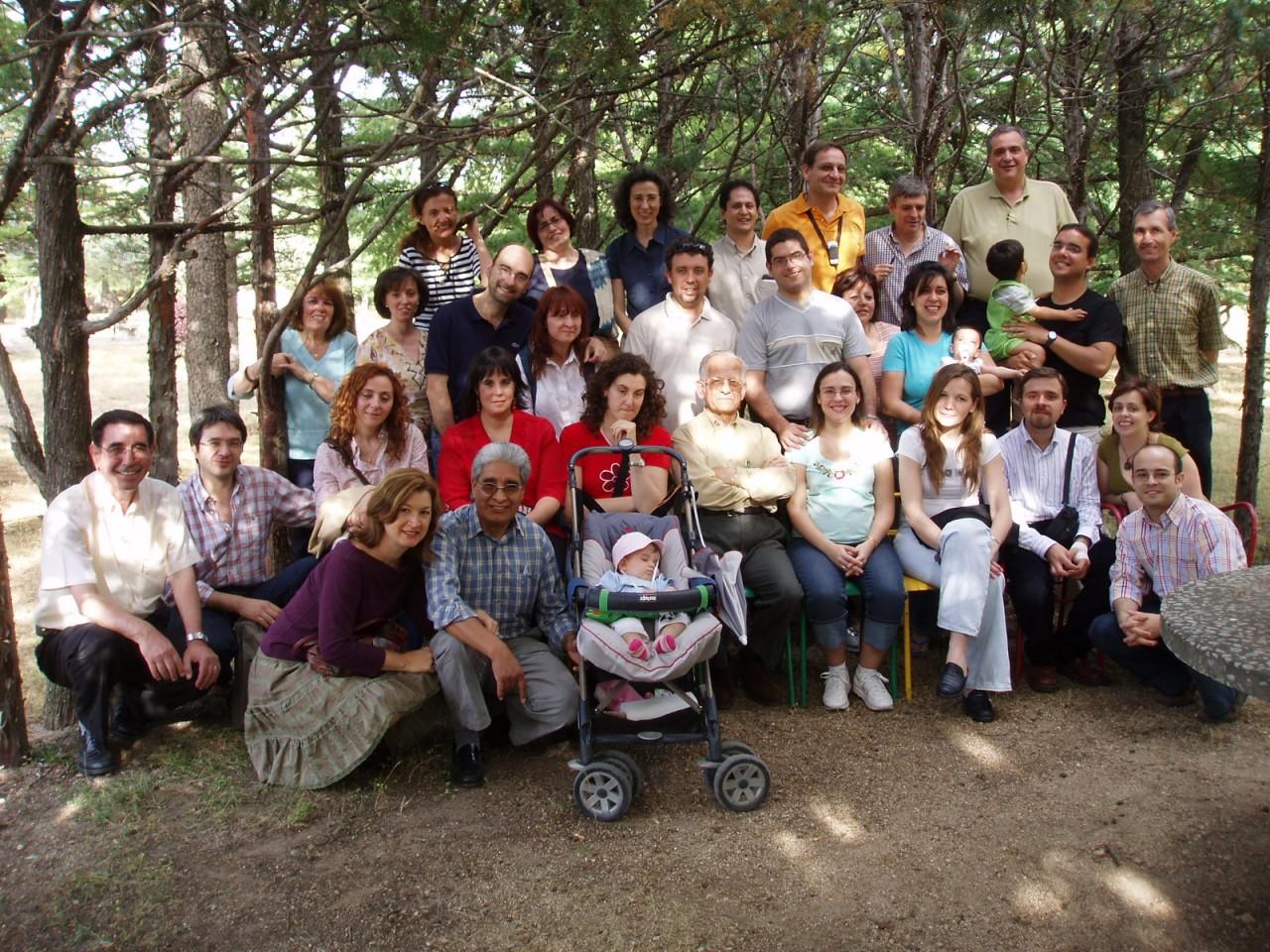 Foto de grupo Encuentro 2006