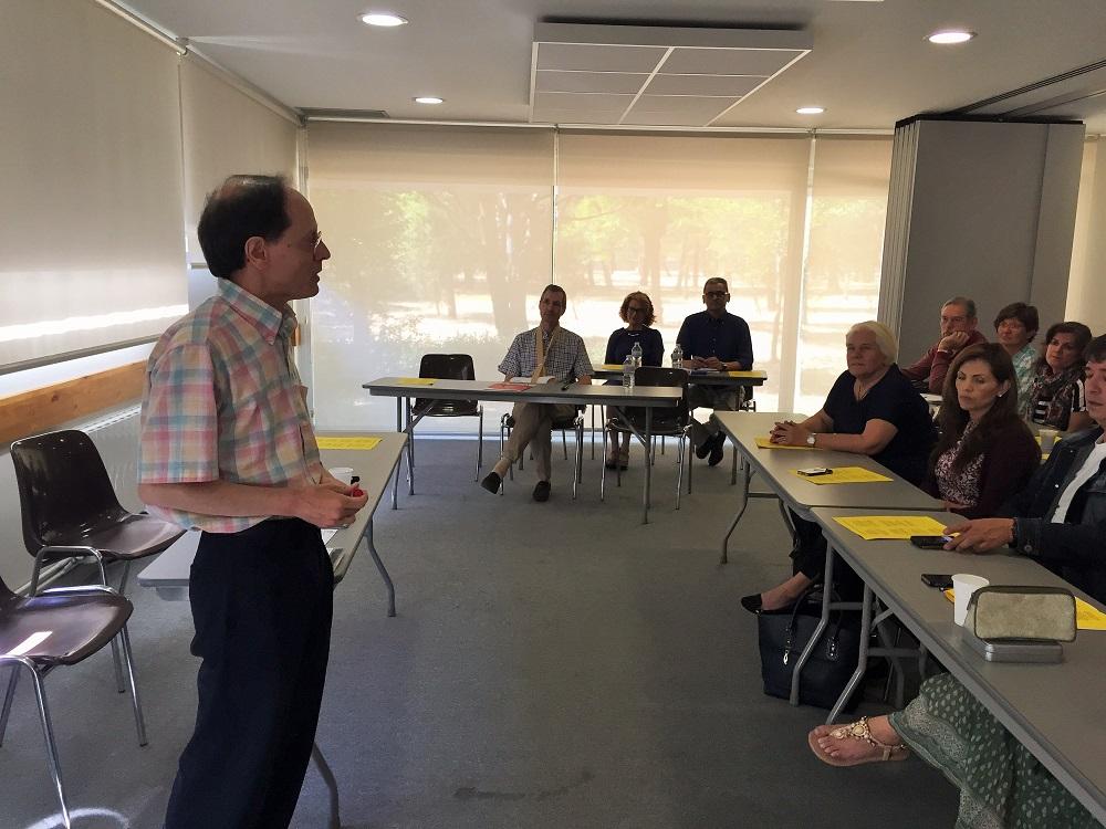 Pablo Martínez nos introduce en el tema del encuentro