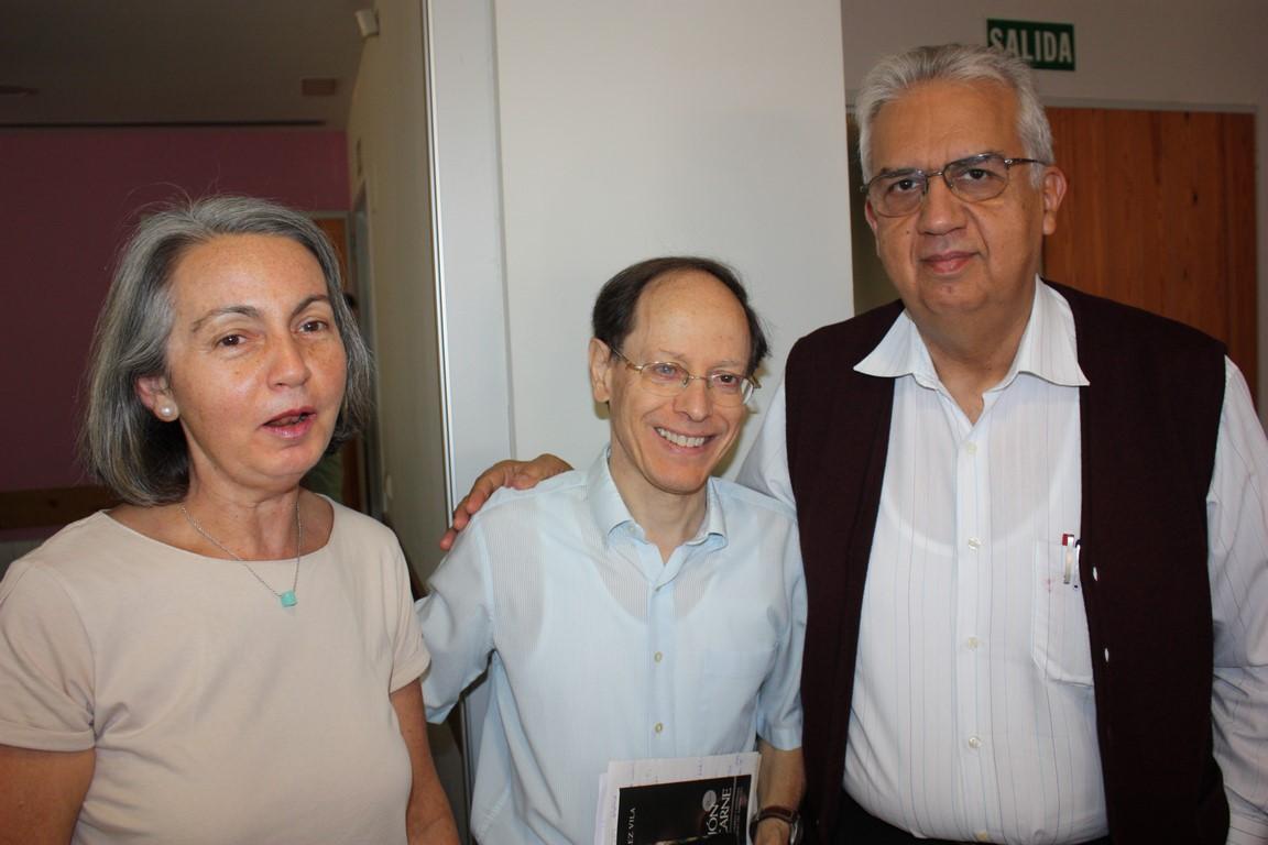 María Victoria, Pablo y Luis