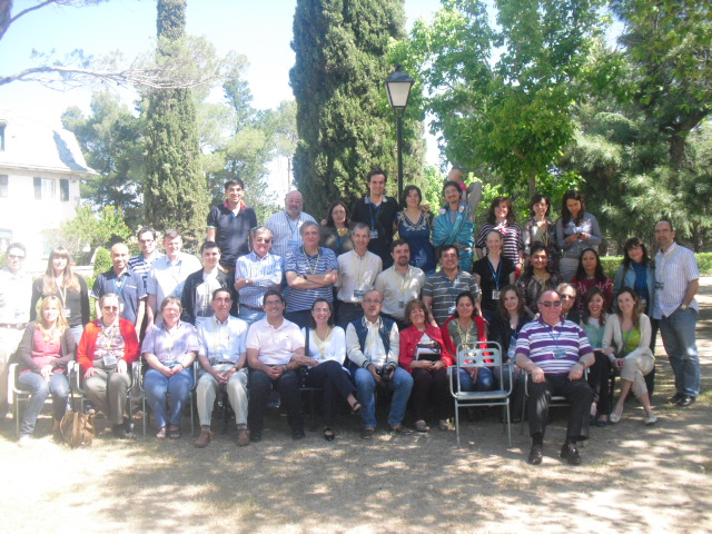 Foto de grupo Encuentro 2012