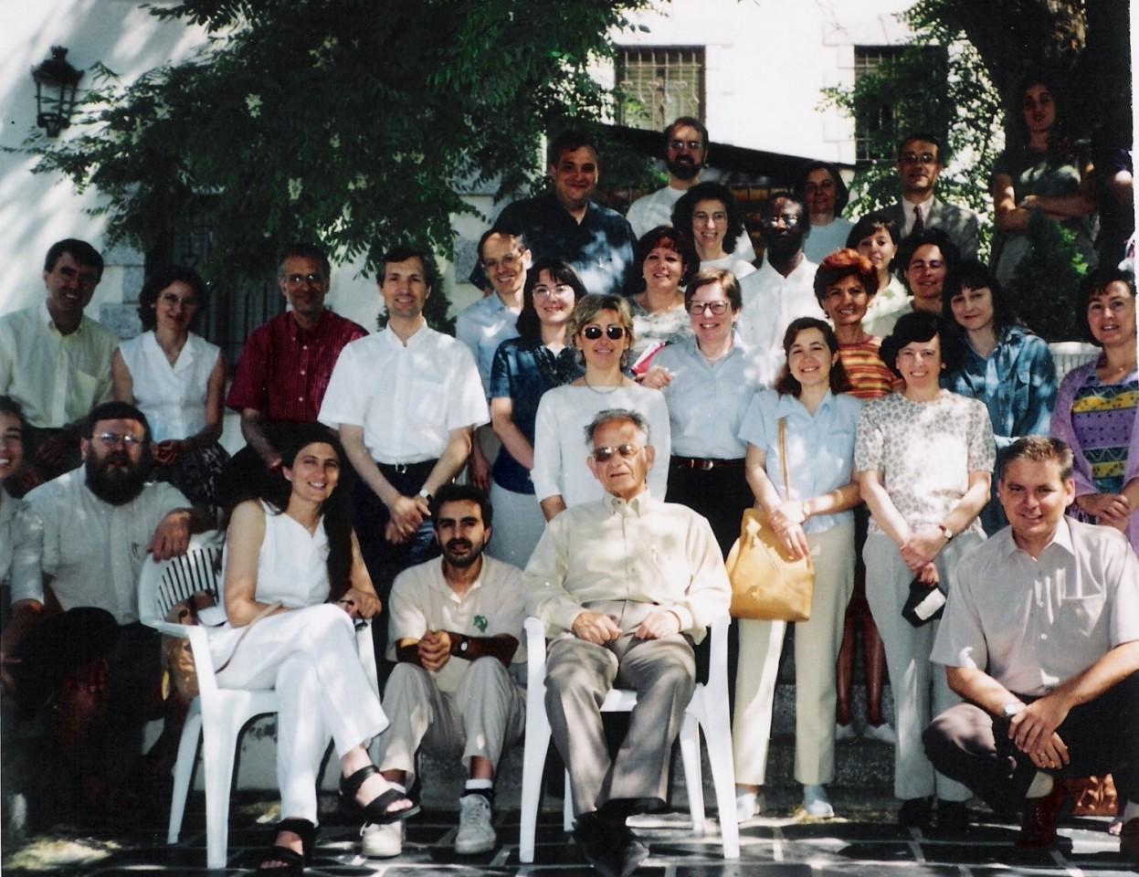 Foto de grupo Encuentro 2001 en Cercedilla