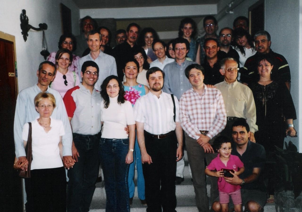 Foto de grupo Encuento 2005 en Los Negrales