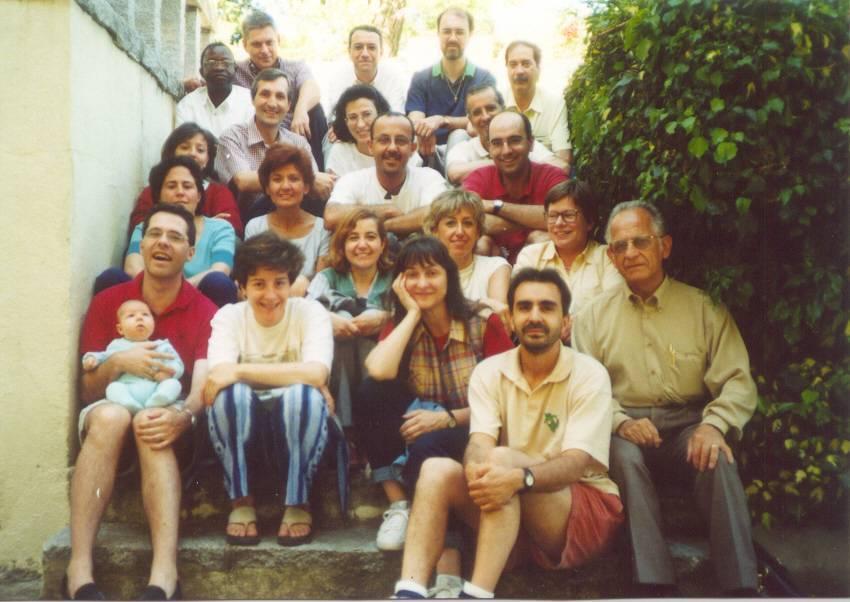 Foto de grupo Encuentro 2000