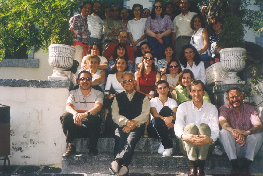 Foto de grupo Encuentro 2002 en Cercedilla