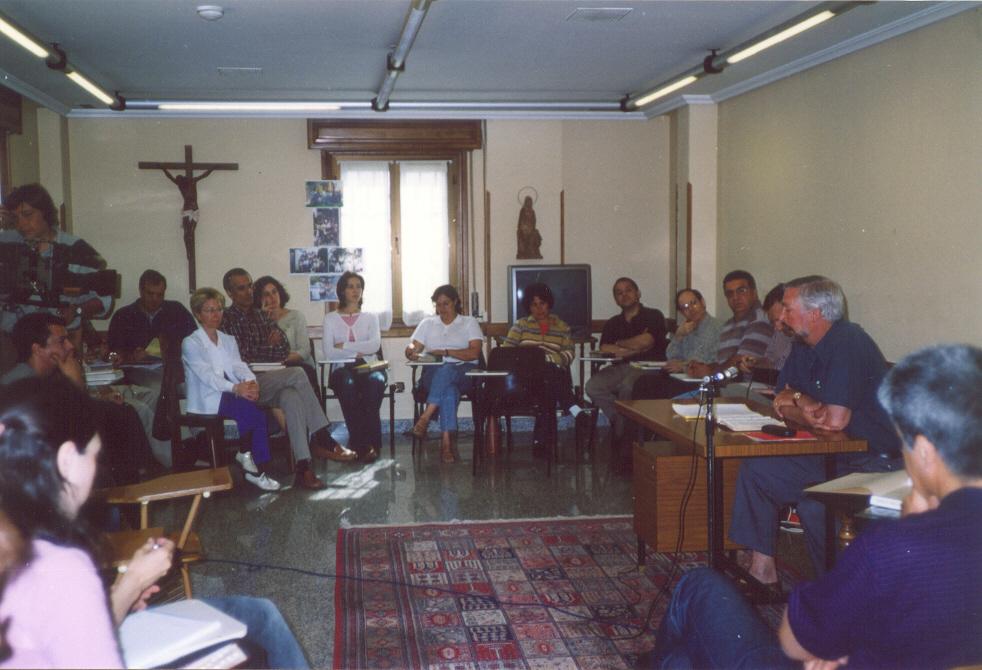 Durante la exposición bíblica